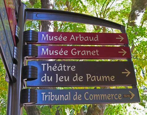 Museums in Aix-en-Provence France