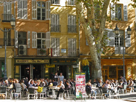Restaurants in Aix-en-Provence