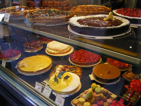 French Pastries in Aix-en-Provence