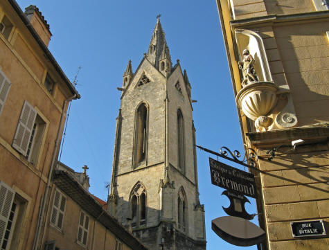 St. Jean Church in Aix